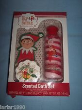 ELF ON THE SHELF 3 PIECE SCENTED BATH SET-BODY WASH, FIZZ & DECAL~NEW IN BOX