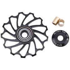 Bicycle Rear Derailleur Pulley MTB Mountain Road Bike Sealed Bearings Wheel SO