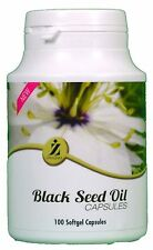 100 Black Seed Oil Capsules By ZamZam Health Suppliment 100% Halal