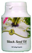 100 Capsule di Olio di seme nero da zemzem salute Suppliment 100% Halal