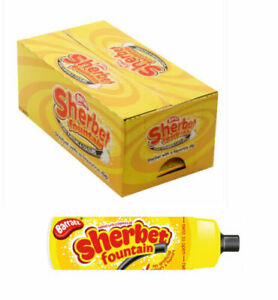 Barratt Sherbet Fountain Liquorice & Sherbet Retro Sweets Long Date