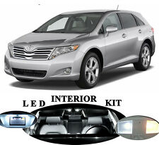 LED Package - Interior + License Plate + Vanity for Toyota Venza (14 pieces)