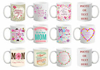 Happy Mothers Day Custom Personalised Gift Mug Tea Cup Any Printing Photo Text