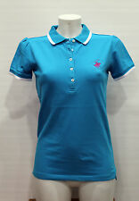 BEVERLY HILLS polo club  Maglia polo donna Art 180 TG M Col Turchese