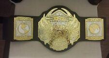 "TNA NWA World Heavyweight Championship Jakks Belt 34"" Waist RETIRED AJ STYLES"
