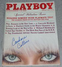 CANDACE COLLINS SIGNED AUTO'D PSA/DNA COA PLAYBOY MAGAZINE FEBRUARY 1980 DEC '79