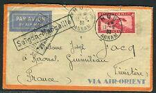 Indochine / France - Enveloppe de Hué pour la France en 1933  D174