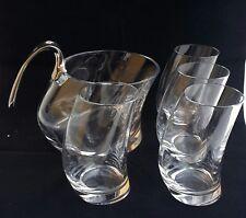 Angelo Mangiarotti Bibulo glasses decanter ice bucket collevilca design whiskey