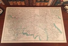 Richmond Virginia Antique North American Maps Atlases eBay