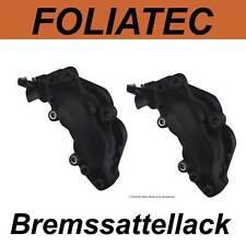 FOLIATEC BREMSSATTELLACK SCHWARZ MATT Bremssattel Lack Farbe 2176 Audi - SET NEU