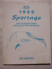 1999 KIA SPORTAGE AIR CONDITIONER INSTALLATION SERVICE MANUAL