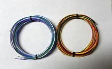 24 Awg Mil Spec Wire Ptfe Stranded Silver Plated Copper Assortment 50 Ft