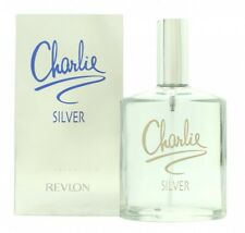 REVLON CHARLIE SILVER EAU DE TOILETTE 100ML SPRAY - WOMEN'S FOR HER. NEW
