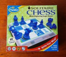 Solitaire Chess Board Game Complete Mind Capturing Logic Train Learn Practice
