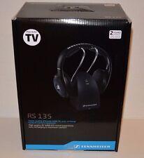 Brand New Sennheiser RS 135 Wireless Stereo Headphone System Black