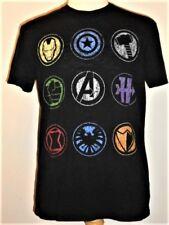 Marvel AVENGERS Team Member Logos T-shirt