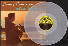 JOHNNY CASH LP Johnny Sings Hank Williams CLEAR Vinyl UNDUB Sun 500 Only SEALED