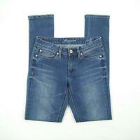 Jeanswest - Super Skinny Faded Blue Stretch Denim Jeans Women's Size 8 W28 #29D8