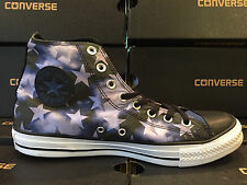 NEW Converse All-Star Hi STARS USA AMERICAN FLAG 149295F Men's 9 Blue Unisex