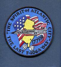 177th FIG LAST CONVAIR F-106 DELTA DART USAF Fighter Interceptor Squadron Patch