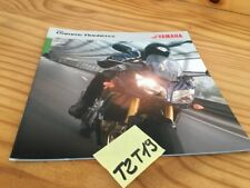 yamaha 2006 FZ1 Fazer FZ6 A TDM900 A Katalog Moto Straßen- Prospekt Werbung