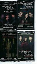 Vampire diaries seasons 1-4, trading cards  pack