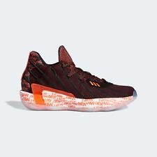 Adidas Hombre para Mujer 7 Baloncesto Zapatos Estilo Rojo Oscuro