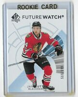 2017-18 SP Authentic hockey Future watch /999 Jan Rutta Chicago Blackhawks