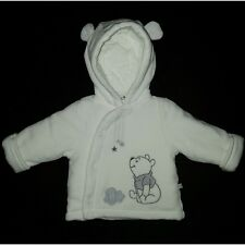 DISNEY BABY manteau blouson bébé écru WINNIE THE POOH, taille 0-1 mois,  neuf