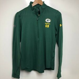 Under Armour Active Jacket Women's S Green NFL Football Green Bay Packers