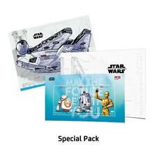 Malaysia 2019 Star Wars personalized stamp special pack MNH