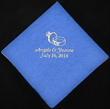 1000 Personalized luncheon napkins custom printed wedding napkins free shipping