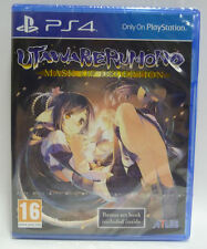 UTAWARERUMONO MASK OF DECEPTION - ATLUS  SONY PS4 PAL NUOVO NEW SEALED