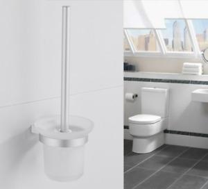 HOT Bathroom Accessories Toilet Brush set Space aluminum+plastic wall mount New