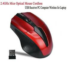 2.4GHz Mice Optical Mouse Cordless USB Receiver PC Computer Wireless for Laptop*