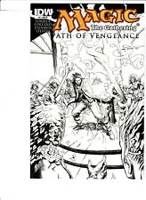 MAGIC THE GATHERING : PATH OF VENGEANCE # 2 VARIANT 1 IN 10 !! 2012 .99 AUCTIONS