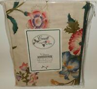 "NOS Vintage Croscill Dynasty Floral Valance Curtain 90"" x 12"" MIP"