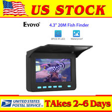 "4.3"" 20M Fish Finder Used 6-8 Hours 8pcs Ir Led Underwater Fishing Video Camera"