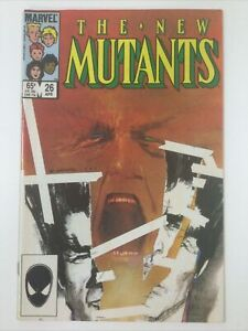1985 THE NEW MUTANTS MARVEL COMICS #26