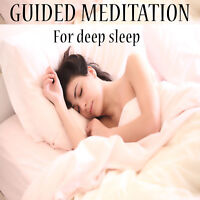 GUIDED MEDITATION CD FOR A DEEP & NATURAL SLEEP