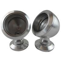 Car Tweeter Aluminium Base Speaker Boxes ( One Pair ) Titanium 40.3-50Mm X2Z7