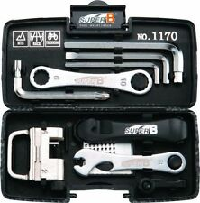 Super B TB-1170 BICYCLE TOOL KIT w/ Case 24 Pc Compact & Lightweight