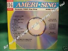 Female R&B Hip-Hop~~AmeriSing Karaoke~1033 ~ Tonight I'm Gonna Let Go ~ CD+G