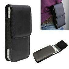 Wallet Carry Waist Pouch Bag PU Leather Belt Holster Case Cover for iPhone 5 5S