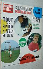 MIROIR FOOTBALL N°74 1966 SC TOULON NIMES PARIS FC NANTES PROU ASSE BRESIL SION