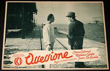 fotobusta originale OSSESSIONE Luchino Visconti Massimo Girotti 1943 #18