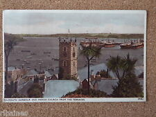R&L Postcard: Falmouth Harbour and Parish Chuch from the Terraces 1956, Sweetman