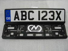 Number Plate Surrounds x2 Cheapest on Ebay Very High Quality