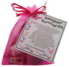 Daughter Survival Kit - unique keepsake for your daughter. Fun novelty gift.