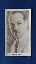 Tobacco Products Corp Vintage Cigarette Card #15 Jack Holt